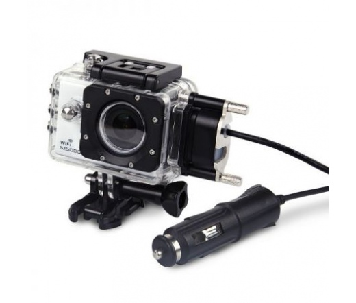 SJCAM motoros szett (tartó + töltő) SJ5000 kamerához