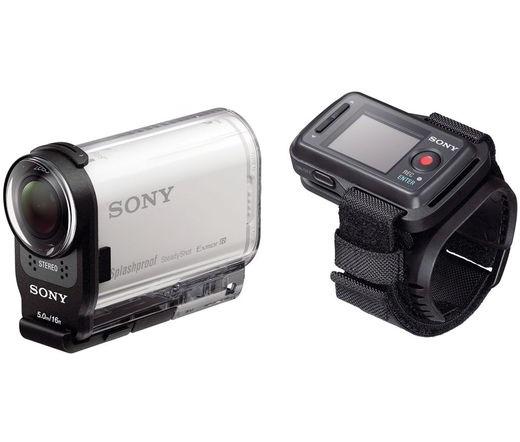 HD CAMERA SONY HDR-AS200VR +vízálló tokkal +távirányítóval +16Gb micro SD