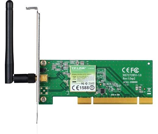 NET TP-LINK TL-WN751ND 150M Wireless PCI kártya