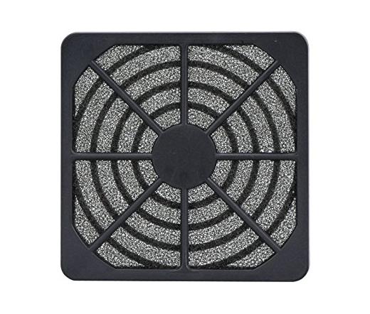 AKASA mosható ventillátor szűrő 12 cm