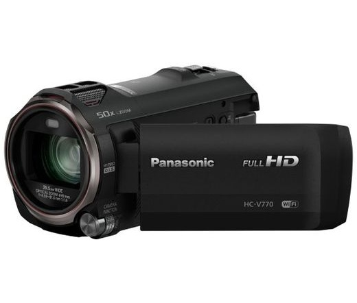 PANASONIC HC-V770EP-K Full HD Videókamera fekete
