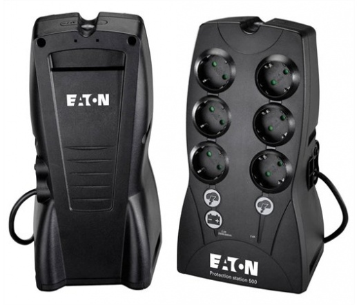 EATON Protection Station 500 250W fekete