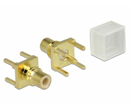 Delock Adapter, SMC hüvely PCB