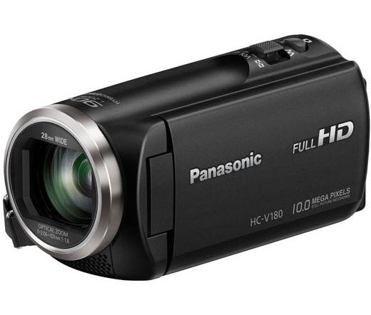 PANASONIC HC-V180EP-K FullHD videókamera fekete
