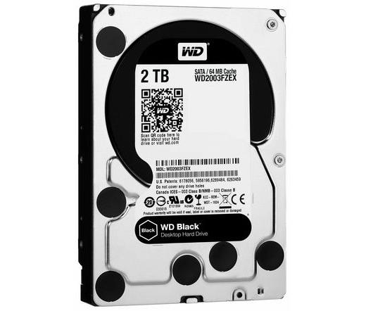 HDD WD 2TB 7200 RPM 64MB CACHE SATA-III Black WD2003FZEX