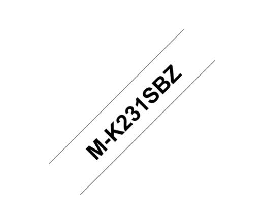 BROTHER P-touch MK-231SBZ nem laminált műanyag szalag