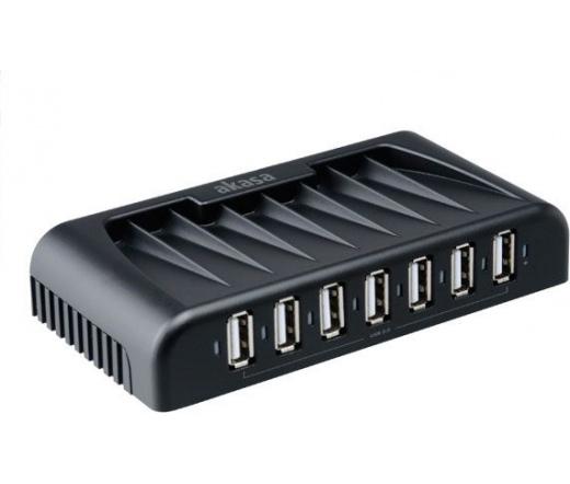 AKASA SuperSpeed 7-port USB3.0 Hub (AK-HB-09BK)