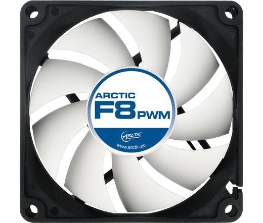 COOLER ARCTIC F8 PWM Rev2 8cm rendszerhűtő