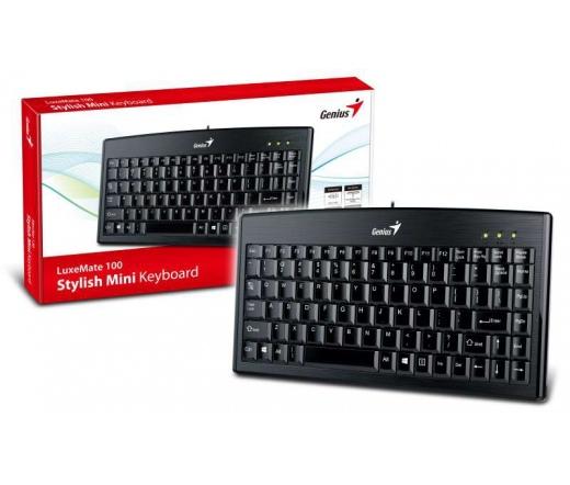 GENIUS Keyboard LuxMate 100 Hun USB Fekete