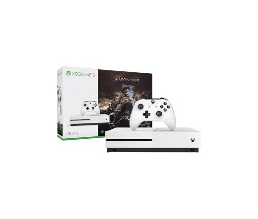 XBOX ONE Xbox One S 1TB Shadow of War (White)