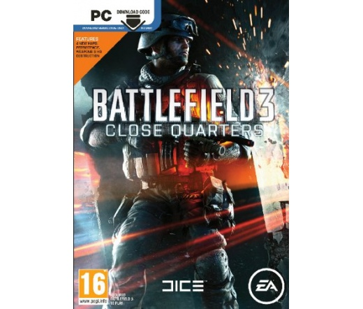 GAME PC Battlefield 3 Close Quarters Code