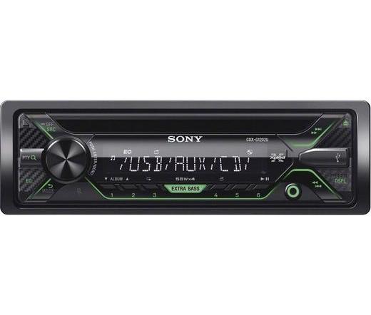AUT SONY CDX-G1202U zöld