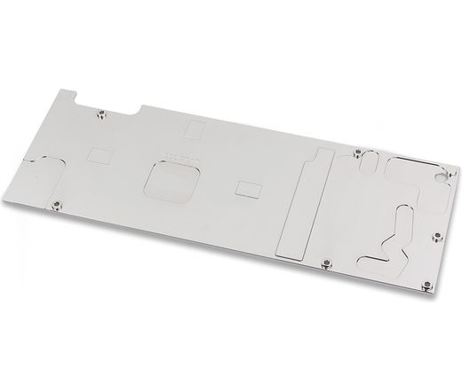 EK WATER BLOCKS EK-FC1080 GTX Ti Backplate - Nickel