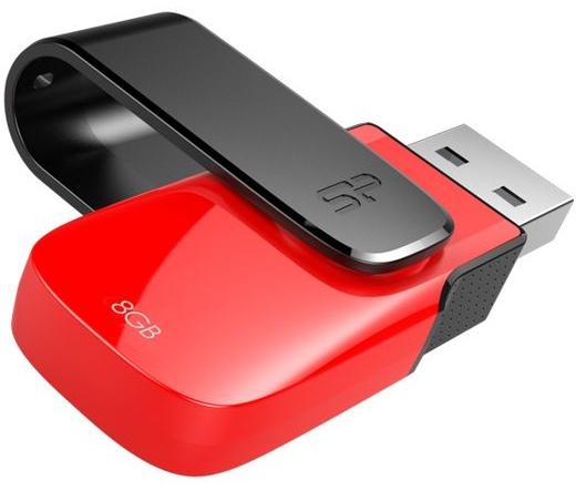 Pendrive 8GB Silicon Power Ultima U31 Red USB2.0