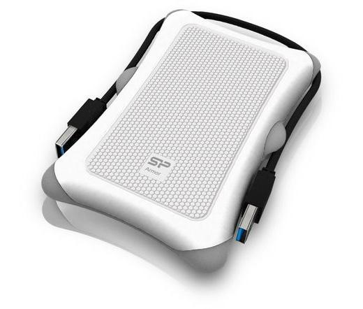 Mobil Rack Silicon Power Armor A30 USB3.0 Fehér