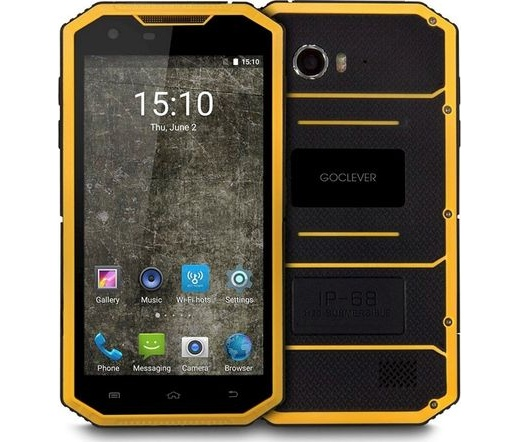 GoClever Mobile Quantum 5 500 Rugged, csepp-por- és ütésálló mobiltelefon