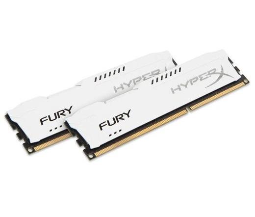 DDR3 16GB 1600MHz Kingston HyperX Fury White CL10 ...