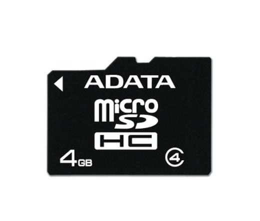 Card MICRO SDHC Adata 4GB CL4