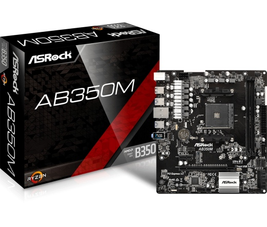 MBO Asrock AB350M