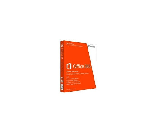 SW MS OFFICE 365 Home Premium 1 user 5 gép 1 év magyar BOX