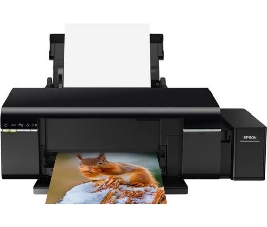 Epson L805 színes A4 nagykapacitású fotónyomtató, WIFI, 3 év garancia promó