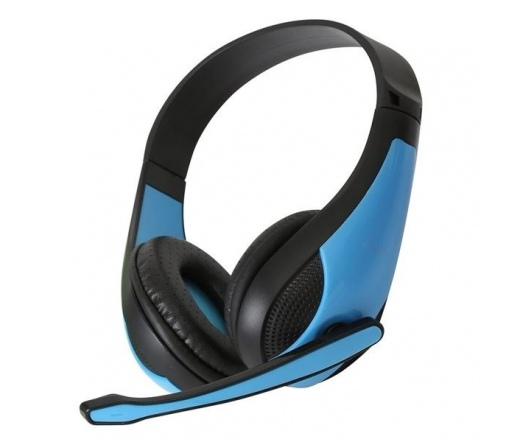 OMEGA Freestyle Headphone FH4008BL Hi-fi Kék