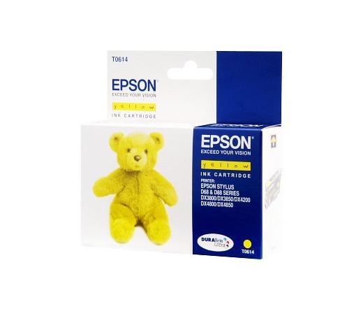 Patron Epson T0614 Yellow 8ml (C13T06144010)