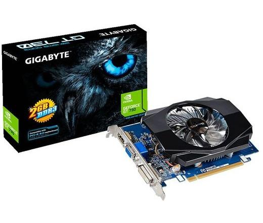 VGA GIGABYTE PCIE GT730 2048MB GDDR3