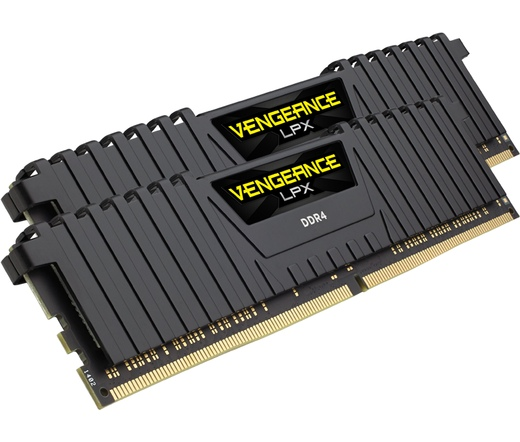 DDR4 16GB 2666MHz Corsair Vengeance LPX Black Ryze...