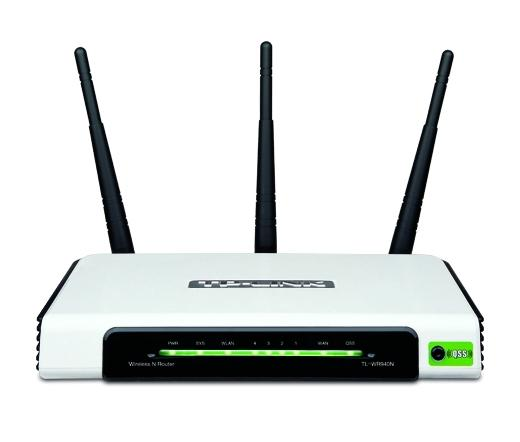 NET TP-LINK TL-WR940N 300M Wireless Router 3x3MIMO Fix antennás
