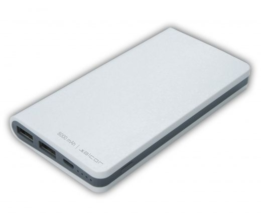 ALCOR Power Bank D 8000 Fehér