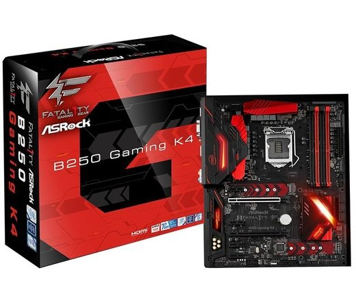 Asrock Fatal1ty B250 Gaming K4