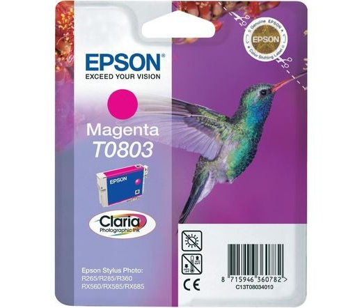Patron Epson T0803 Magenta 7,4ml (C13T08034010)