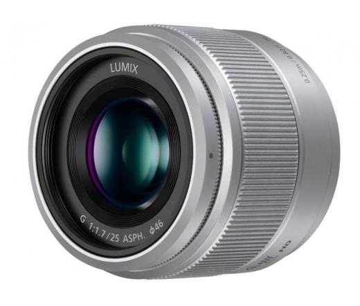 Panasonic 25mm f1.7 objektív ezüst H-H025E-S