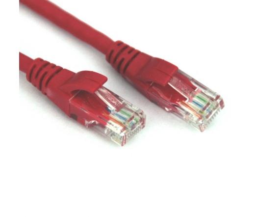 VCOM kábel Utp Cat6 Patch 0.5M, Piros