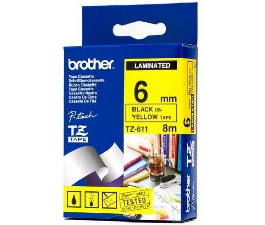 BROTHER P-touch TZe-611 laminált szalag