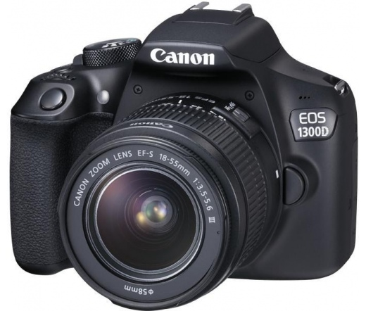 CANON EOS 1300D + EF-S 18-55mm f/3.5-5.6 DC III kit