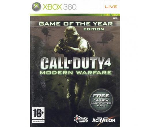 GAME XB360 Call of Duty 4: Modern Warfare