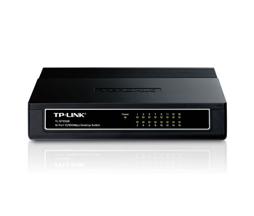 NET TP-LINK TL-SF1016D 16port Switch