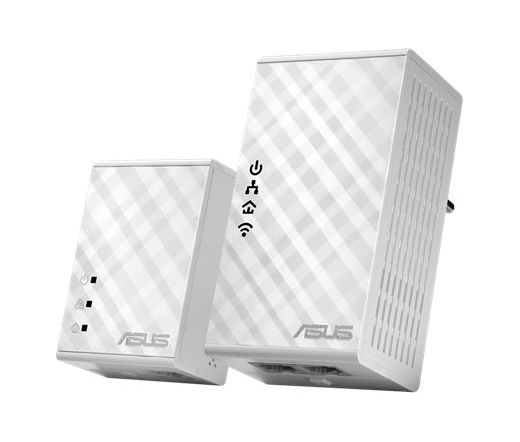 NET ASUS PL-N12 Powerline Kit White