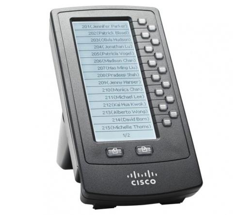 TEL CISCO SPA500DS digitális konzol az SPA5xx sorozathoz