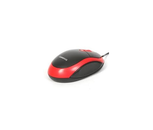 OMEGA MOUSE OM06VR USB 800dpi Piros/Fekete