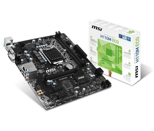 MBO MSI H110M Eco