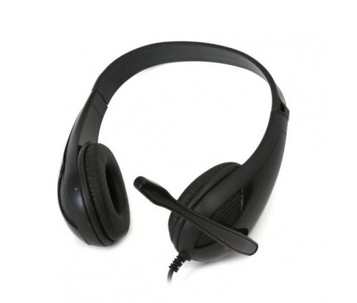 OMEGA Freestyle Headphone FH4008B Hi-fi Fekete