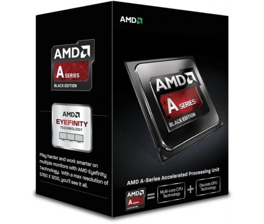 AMD A-Series A6-7470K FM2 BOX Quiet cooler