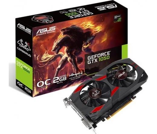 Asus CERBERUS-GTX1050-O2G 2GB DDR5