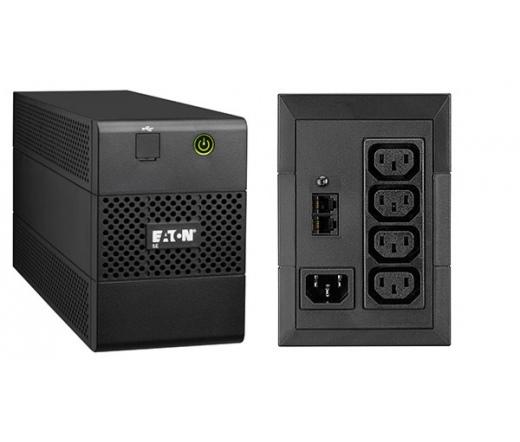 UPS EATON 5E 650iUSB 360W fekete