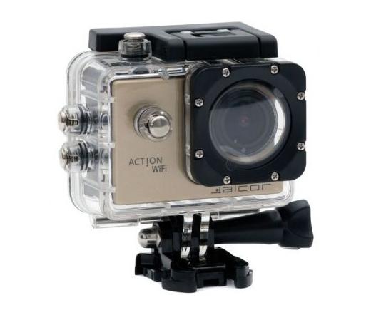 Alcor Action HD sportkamera Arany