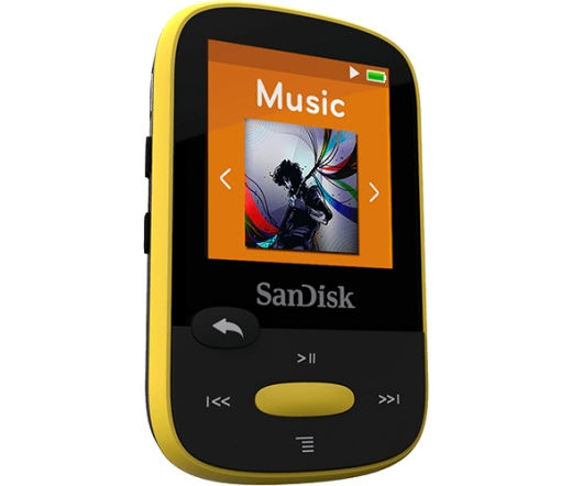 MP3 SANDISK Clip Sport 8GB Yellow