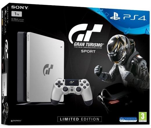 PS4 Playstation 4 Slim 1 TB Grand Turismo Sport Limited Edition Szoftvercsomag